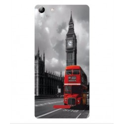 Protection London Style Pour Wiko Selfy 4G Rubby