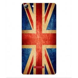 Coque Vintage UK Pour Wiko Selfy 4G Rubby