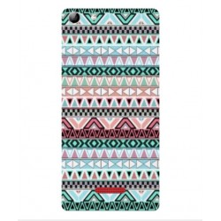 Coque Broderie Mexicaine Pour Wiko Selfy 4G Rubby