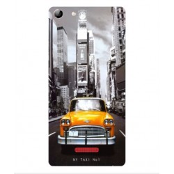 Coque New York Taxi Pour Wiko Selfy 4G Rubby