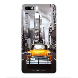 Coque New York Taxi Pour Wiko Lenny 3