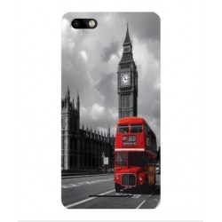Wiko Lenny 3 London Style Cover