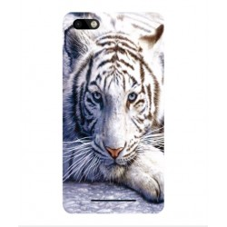 Wiko Lenny 3 White Tiger Cover