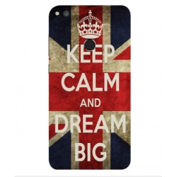 Huawei P8 Lite (2017) Keep Calm And Dream Big Cover