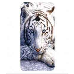 Huawei P8 Lite (2017) White Tiger Cover