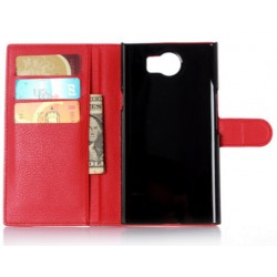 BlackBerry Priv Red Wallet Case