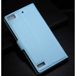 Blackberry Z3 Blue Wallet Case