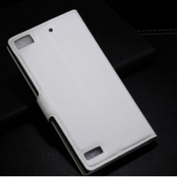 Blackberry Z3 White Wallet Case
