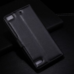 Blackberry Z3 Black Wallet Case