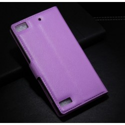 Blackberry Z3 Purple Wallet Case