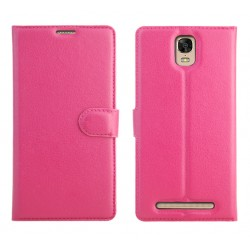Protection Etui Portefeuille Cuir Rose BLU Energy XL