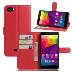 BLU Life One X Red Wallet Case