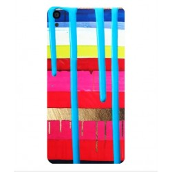 Alcatel OneTouch Idol 3 4.7 Brushstrokes Cover