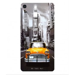 Coque New York Taxi Pour Alcatel OneTouch Idol 3 4.7