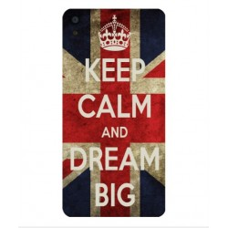 Carcasa Keep Calm And Dream Big Para Alcatel OneTouch Idol 3 4.7