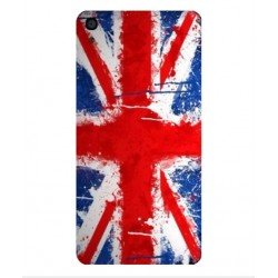 Coque UK Brush Pour Alcatel OneTouch Idol 3 4.7