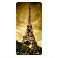 Coque Protection Tour Eiffel Pour Alcatel OneTouch Idol 3 4.7