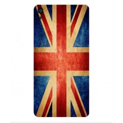 Funda Vintage UK Para Alcatel OneTouch Idol 3 5.5