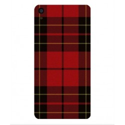 Coque Broderie Suédoise Pour Alcatel OneTouch Idol 3 5.5