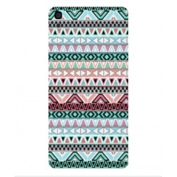 Funda Bordado Mexicano Para Alcatel OneTouch Idol 3 5.5