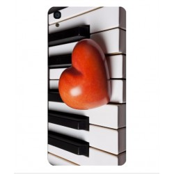 Funda I Love Piano Para Alcatel OneTouch Idol 3 5.5
