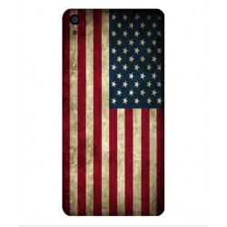 Coque Vintage America Pour Alcatel OneTouch Idol 3 5.5