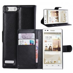 Bouygues Telecom Ultym 5 Black Wallet Case