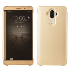 Etui Protection Led View Cover Or Pour Huawei Mate 9