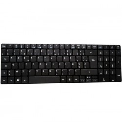 QWERTY Keyboard For Asus N752VX-GB122T