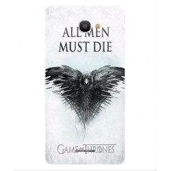 Funda All Men Must Die Para Alcatel Pop 4S