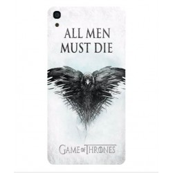 Funda All Men Must Die Para Alcatel OneTouch Idol 3 4.7