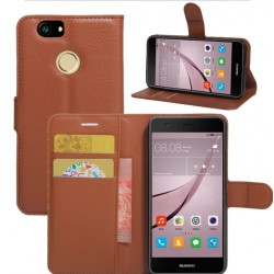 Huawei Nova Brown Wallet Case