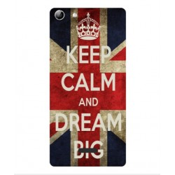 Coque Keep Calm And Dream Big Pour Wiko Selfy