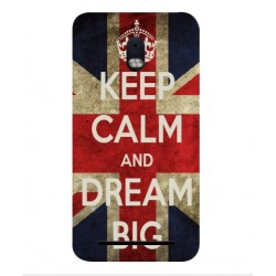 Coque Keep Calm And Dream Big Pour BlackBerry Aurora