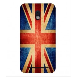 Funda Vintage UK Para BlackBerry Aurora