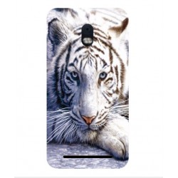 Coque Protection Tigre Blanc Pour BlackBerry Aurora