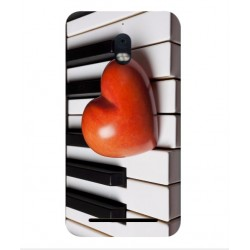 Coque I Love Piano pour BlackBerry Aurora