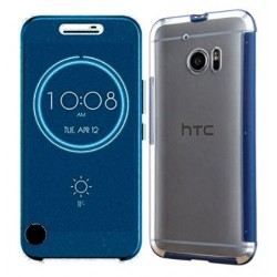 Ice View Cover Für HTC 10 - Blau