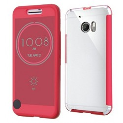 Ice View Cover Für HTC 10 - Rot