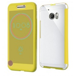 Ice View Cover Für HTC 10 - Golden