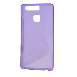 Purple Silicone Protective Case Huawei P9 Plus