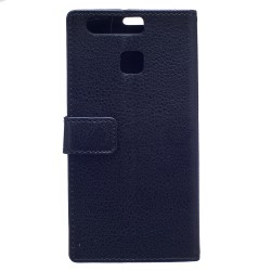 Huawei P9 Plus Black Wallet Case