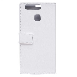Huawei P9 Plus White Wallet Case