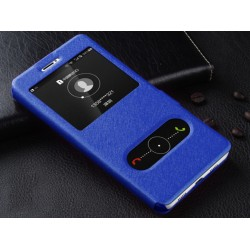 Funda S View Cover Color Azul Para Huawei Honor 8