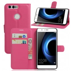 Huawei Honor 8 Pink Wallet Case