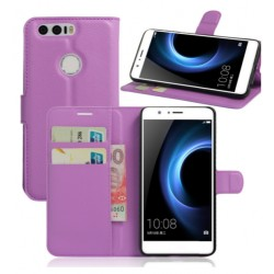Huawei Honor 8 Purple Wallet Case