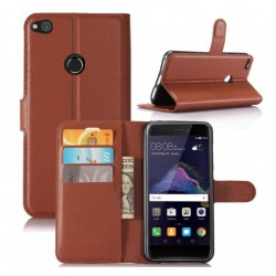 Huawei P8 Lite (2017) Brown Wallet Case