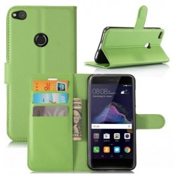 Huawei P8 Lite (2017) Green Wallet Case