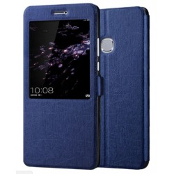Blue S-view Flip Case For Huawei Honor Note 8