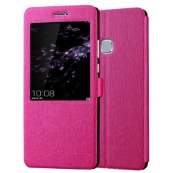 Pink S-view Flip Case For Huawei Honor Note 8
